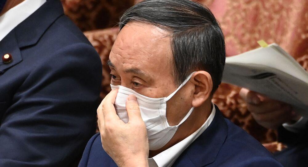 Japonya Başbakanı Suga, kamuoyundan özür diledi