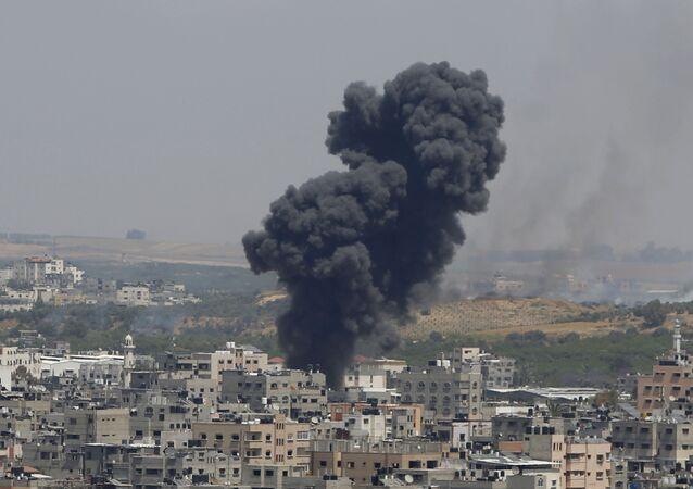 İsrail- Gazze'ye saldırı