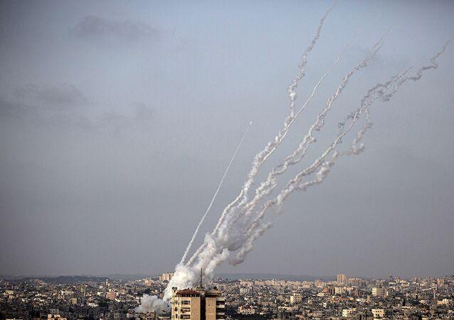 Hamas'tan roket saldırısı