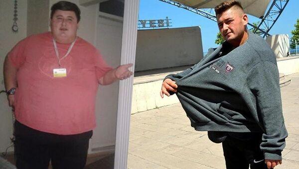 300 kilo olmasına ramak kalmışken sevgilisinin ailesi onu dışlayınca, hırs yaptı. Sadece diyet yapıp yürüyerek 6 ayda 212 kilo verdi. - Sputnik Türkiye