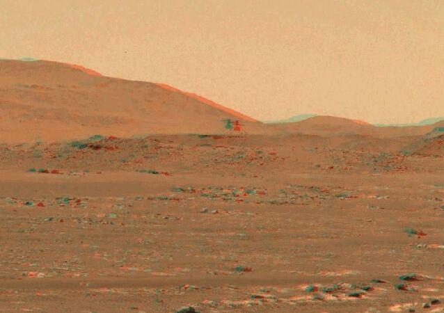 NASA-Ingenuity Mars Helikopteri-3D