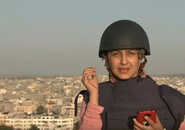 Al Jazeera muhabiri- bomba- Gazze