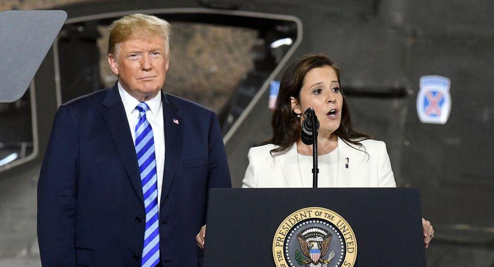 ABD'de Cumhuriyetçilerin Temsilciler Meclisi'ndeki yeni 3 numaralı ismi, Trump'a yakın Elise Stefanik oldu