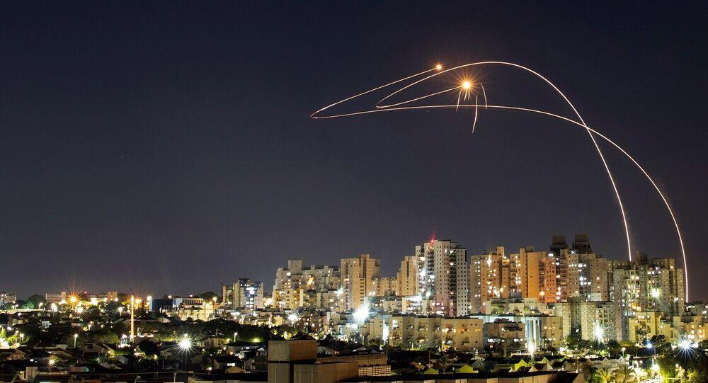 İsrail - Gazze - roket - Demir Kubbe