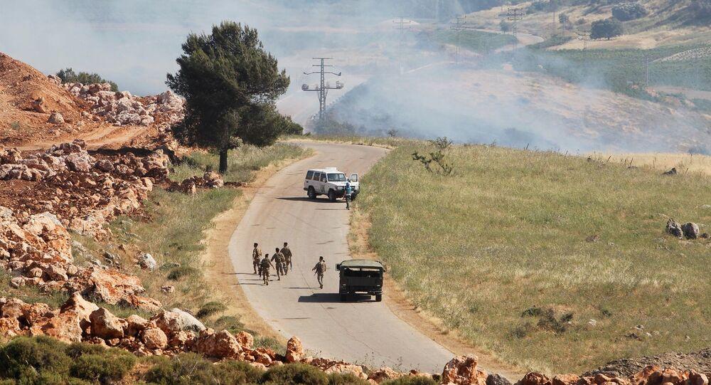 İsrail - Lübnan sınırı