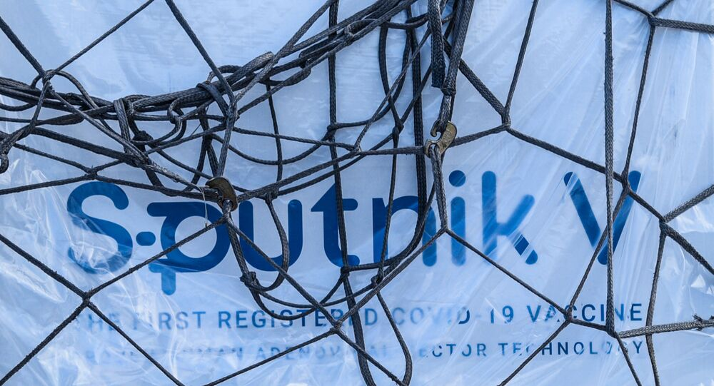 Sputnik V-aşı-sevkiyat