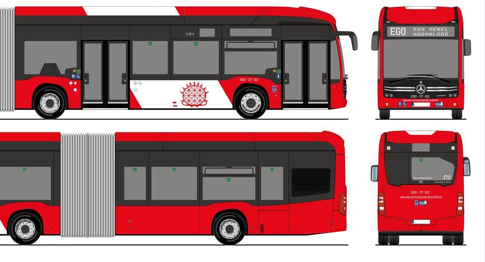 Ankara Büyükşehir Belediyesi-yeni otobüsler