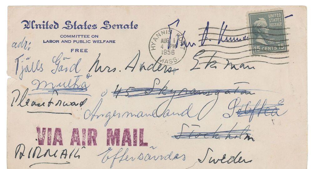 ABD'nin eski başkanı Kennedy'nin kız arkadaşına yazdığı mektuplar