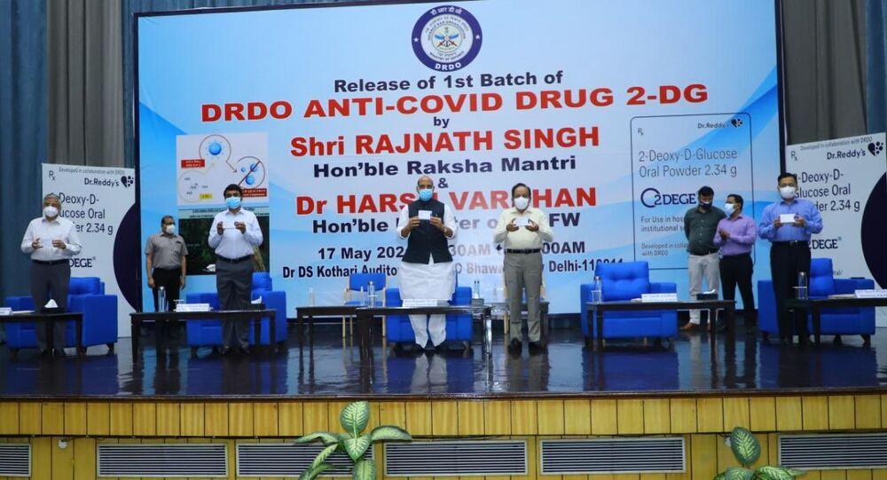 Hindistan'da yerli Kovid-19 ilacı 2-DG