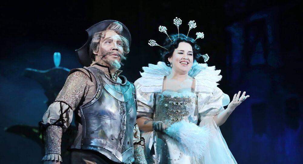 Başkurdistan Opera ve Bale Tiyatrosu'nda Don Kişot'un prömiyeri yapıldı