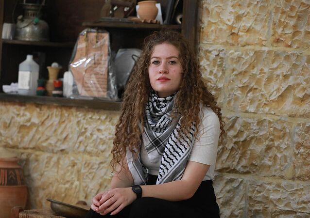 'Filistin'in cesur kızı' Temimi dünyaya seslendi: Filistinli kadınlara da diğerleri gibi sahip çıkın'