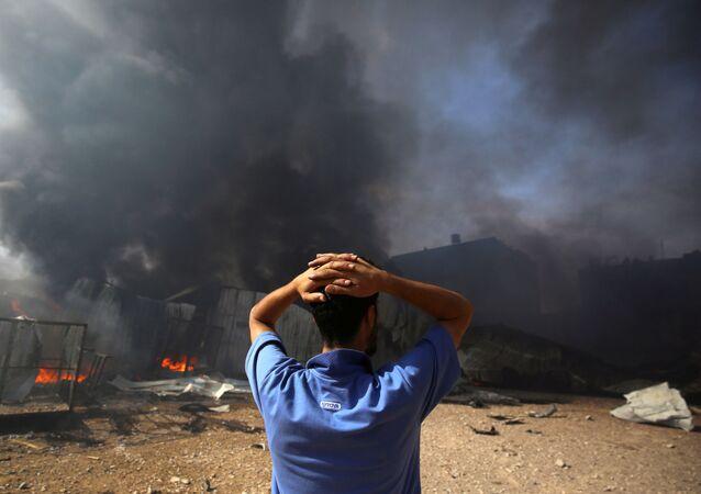 İsrail'in Filistin'e saldırıları