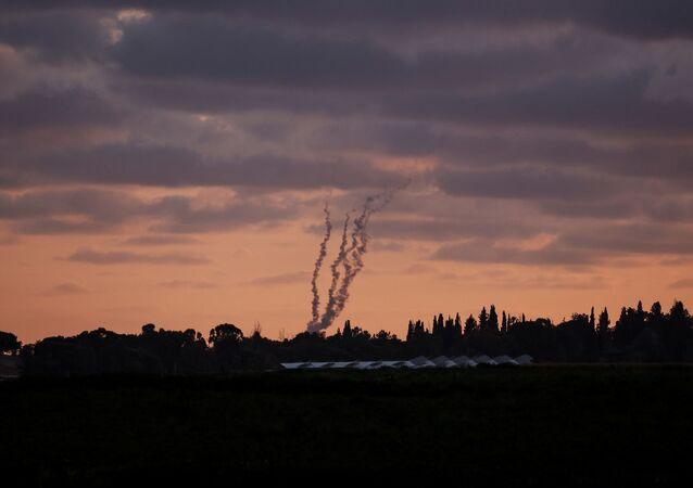Gazze - İsrail - roket saldırısı