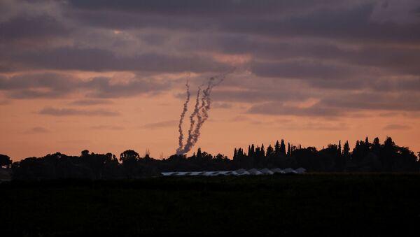 Gazze - İsrail - roket saldırısı - Sputnik Türkiye