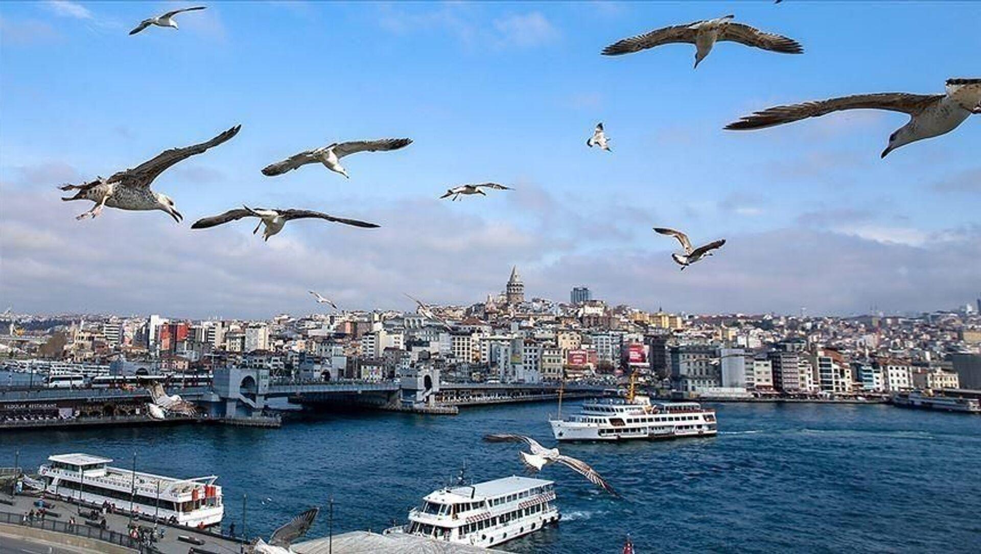 İstanbul / açık hava / sıcak hava / manzara - Sputnik Türkiye, 1920, 18.07.2021
