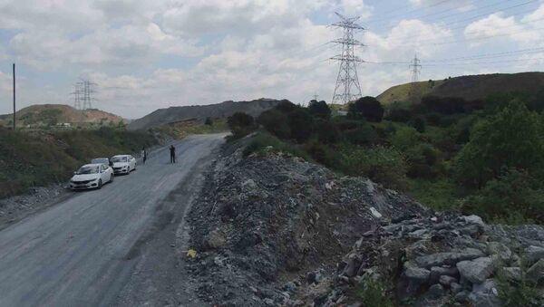 İstanbul'un en önemli su kaynaklarından Alibeyköy Barajı çevresi  - Sputnik Türkiye