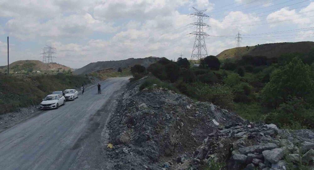 İstanbul'un en önemli su kaynaklarından Alibeyköy Barajı çevresi