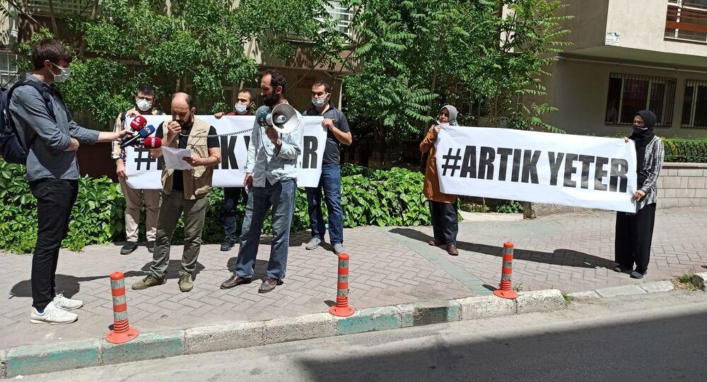 Ankara'da esnaf protestosu