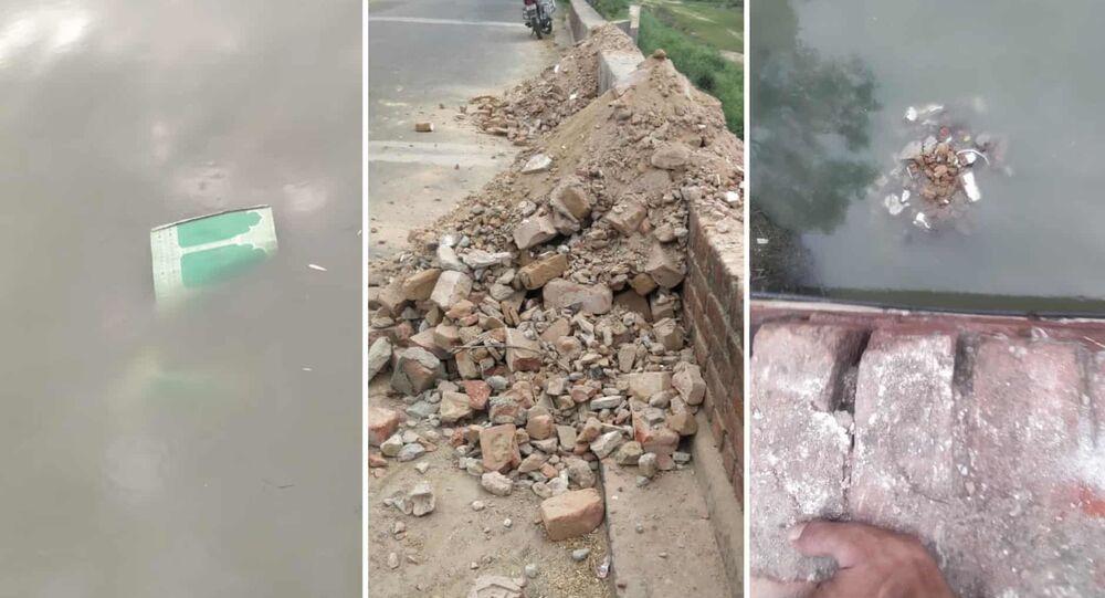 Hindistan'ın Uttar Pradeş eyaletinde bulunan asırlık bir caminin bölge yönetimi tarafından yıkılması bölgedeki Müslümanlar arasında büyük öfke uyandırdı.