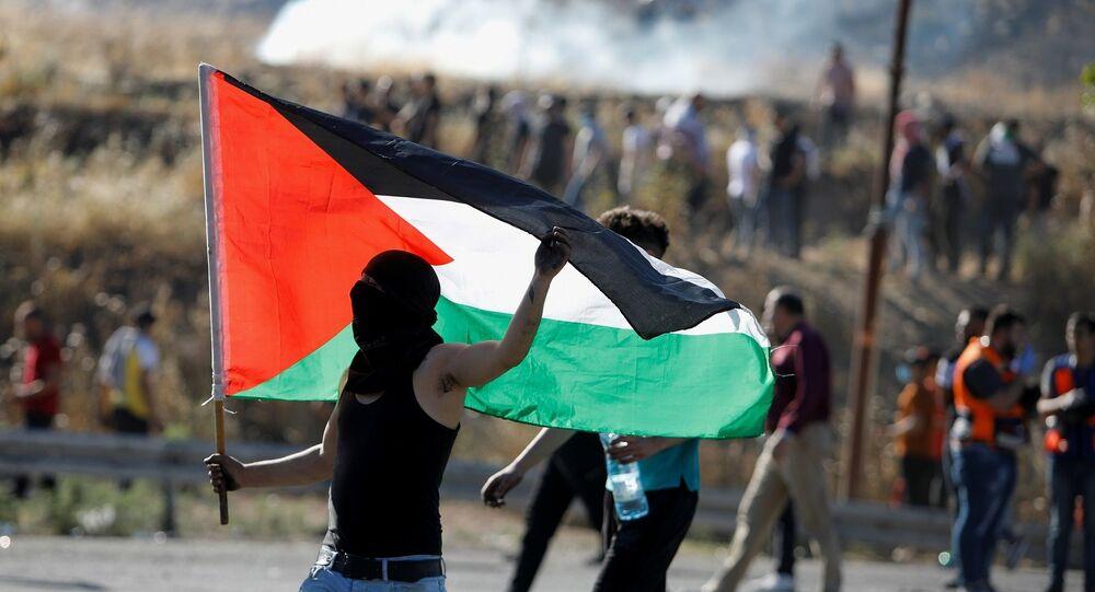 Batı Şeria - Filistin - protesto