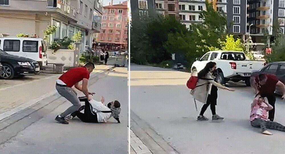 Çankırı'da boşanan çiftin yakınları arasında mal bölüşme kavgası
