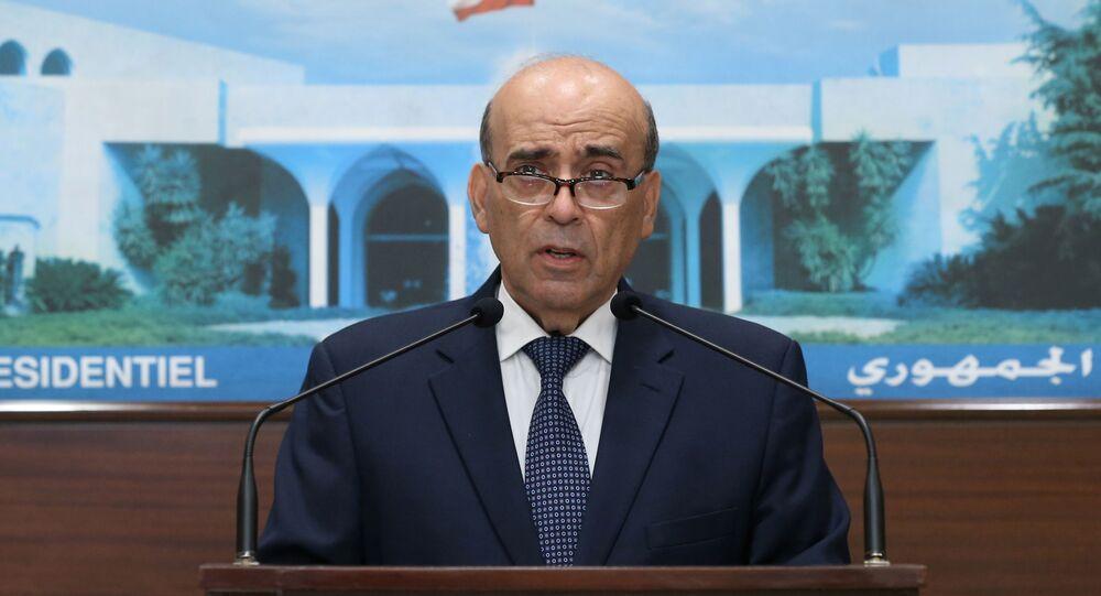 Körfez'le diplomatik krize neden olup istifasını sunan Lübnan Dışişleri Bakanı ŞerbilVehbe