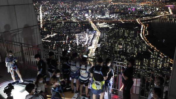 Güney Kore- Seul- Gece hayatı - Sputnik Türkiye