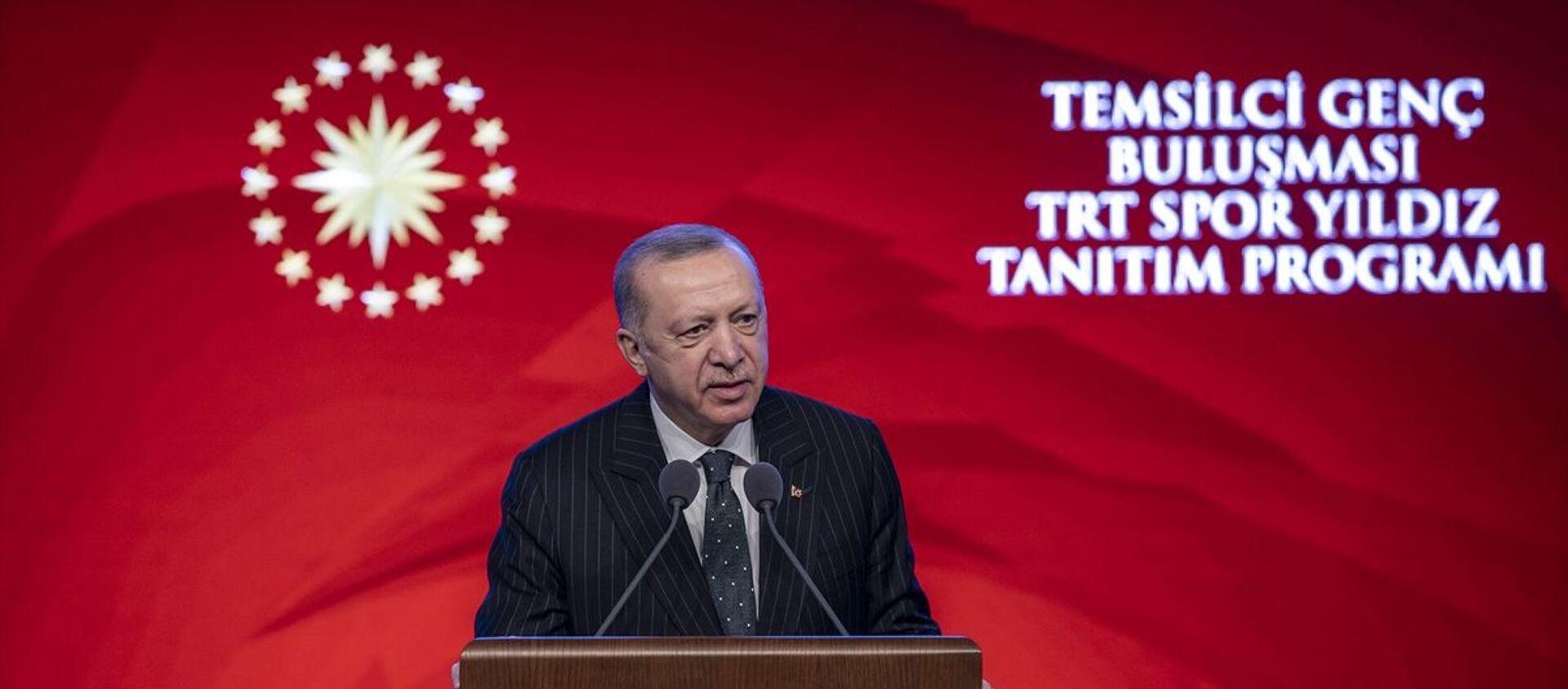 Recep Tayyip Erdoğan - Sputnik Türkiye, 1920, 28.05.2021