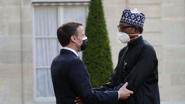 Buhari ve Macron'dan Çad Gölü Havzasındaki güvenlik sorunlarıyla ortak mücadele sözü - Sputnik Türkiye