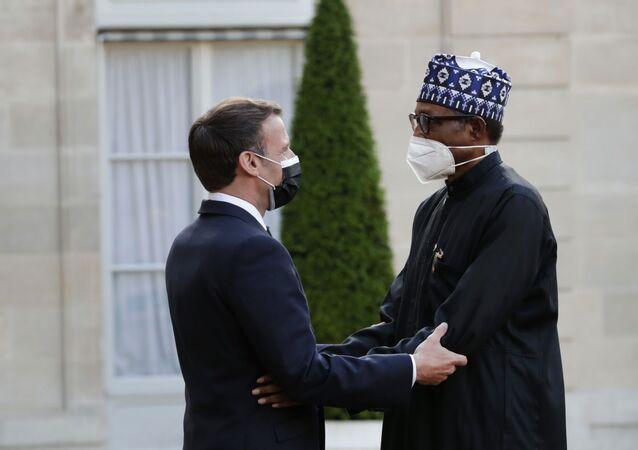 Buhari ve Macron'dan Çad Gölü Havzasındaki güvenlik sorunlarıyla ortak mücadele sözü