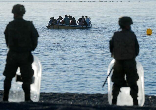 İspanya Faslı göçmenler