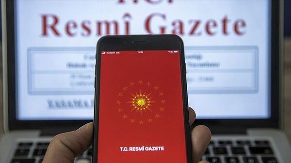 Resmi Gazete - Sputnik Türkiye