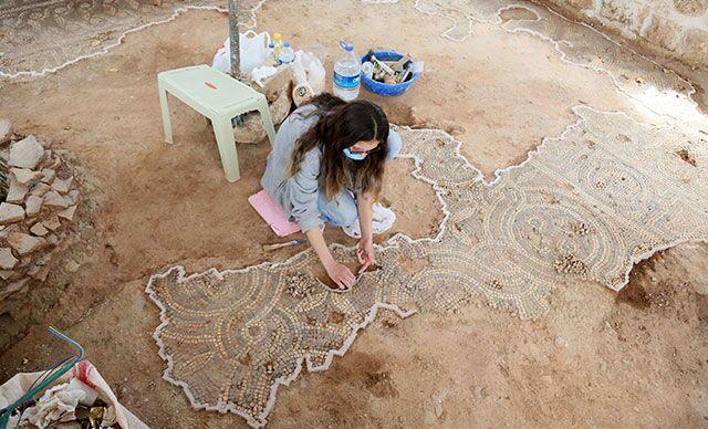 Roma dönemine ait mozaik / Antalya