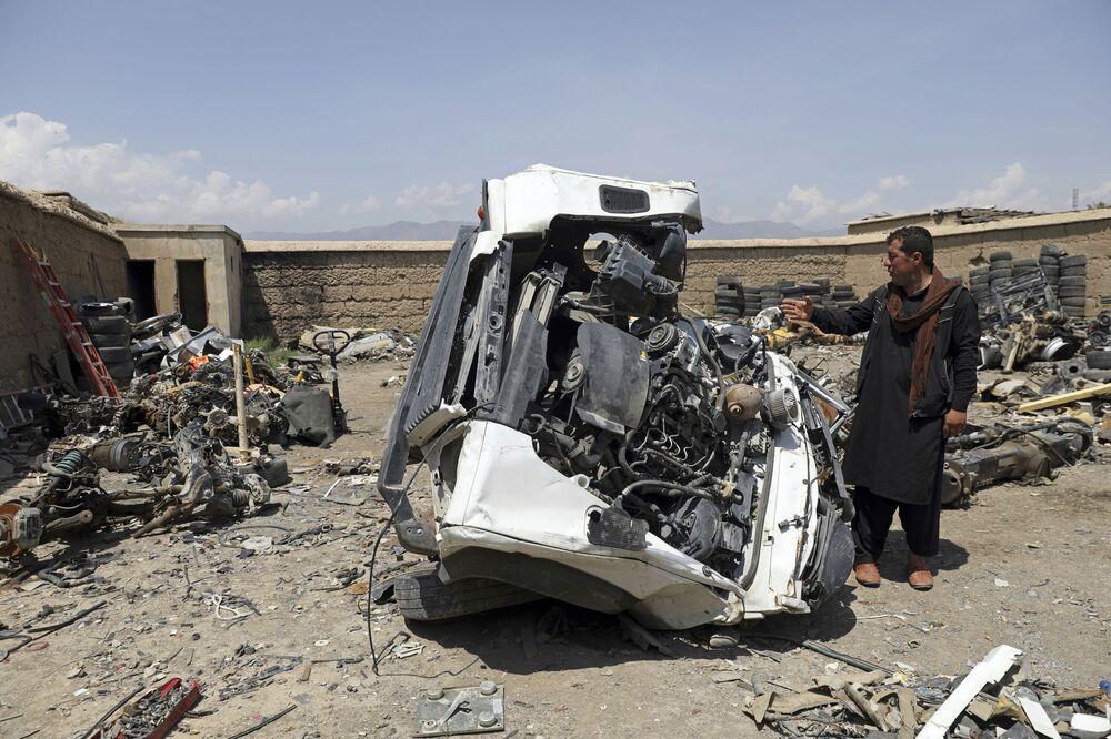 ABD'li yetkililer, Afganistan'dan çıkarılan ekipmanların çoğunun asla geride bırakılmaması gereken hassas teçhizatlar olduğunu belirtiyor.