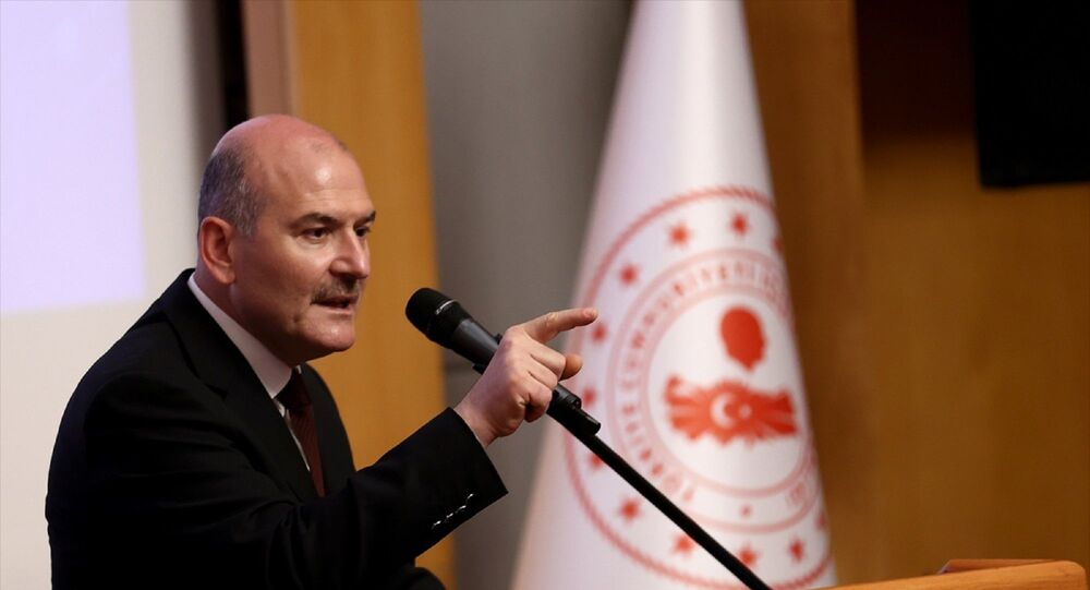 İçişleri Bakanı Süleyman Soylu, Eğitim Daire Başkanlığında 109. dönem kaymakam adayları oryantasyon kursu açılış programına katıldı.
