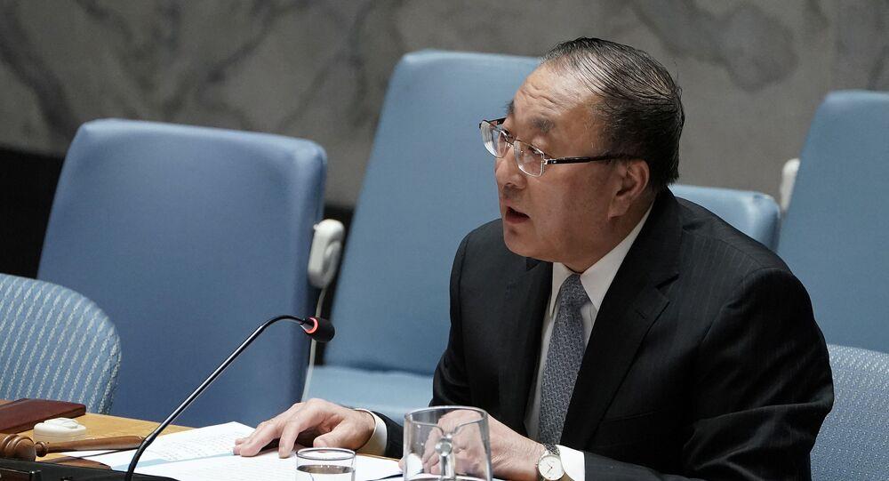 Çin'in BM Daimi Temsilcisi Cang Cün