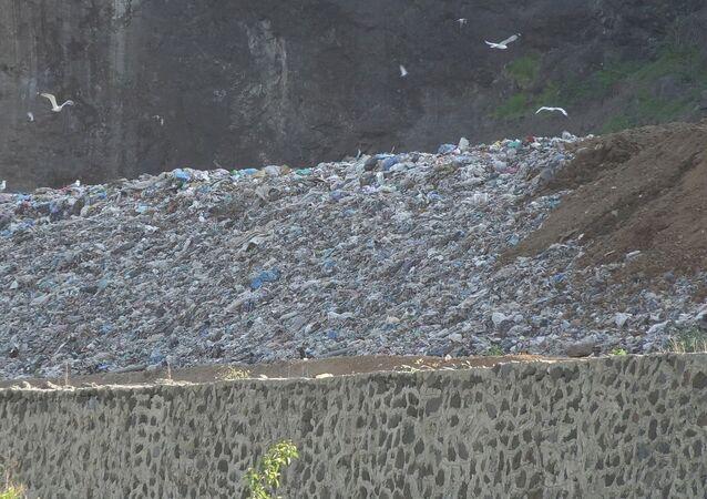 Giresun'da sızıntı tespit edilen çöp tesisi