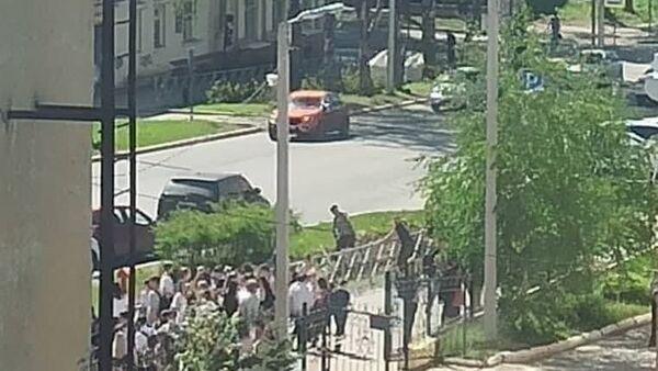 Rusya'daki bir okulda bıçaklı saldırı - Sputnik Türkiye
