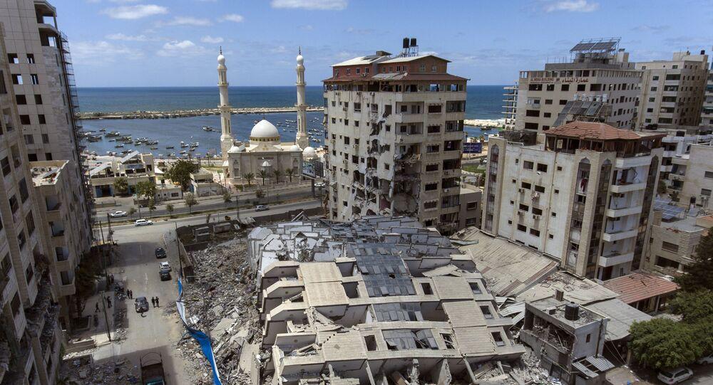 İsrail'in yıktığı Gazze'deki 13 katlı binanın sahibi, Uluslararası Ceza Mahkemesi'ne suç duyurusunda bulundu