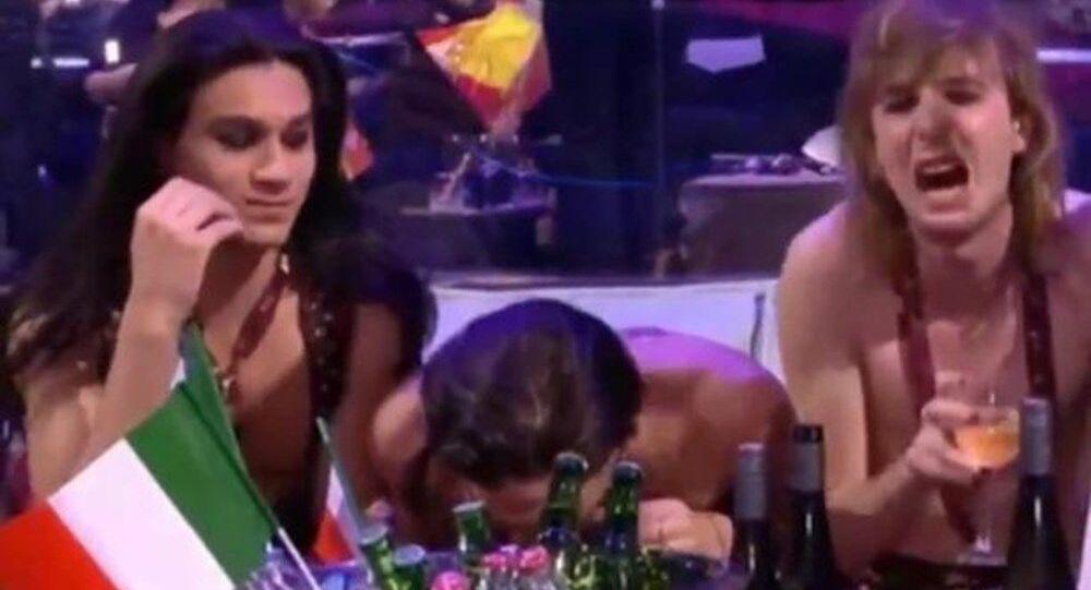 Eurovision'da birinci olan İtalya ekibi 'uyuşturucu kullandı' iddiası
