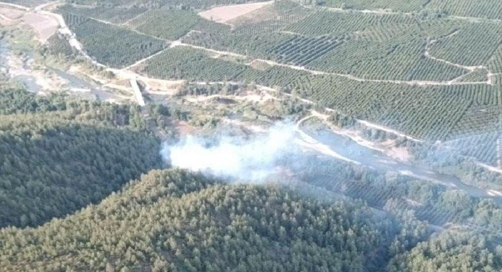 Muğla orman yangını