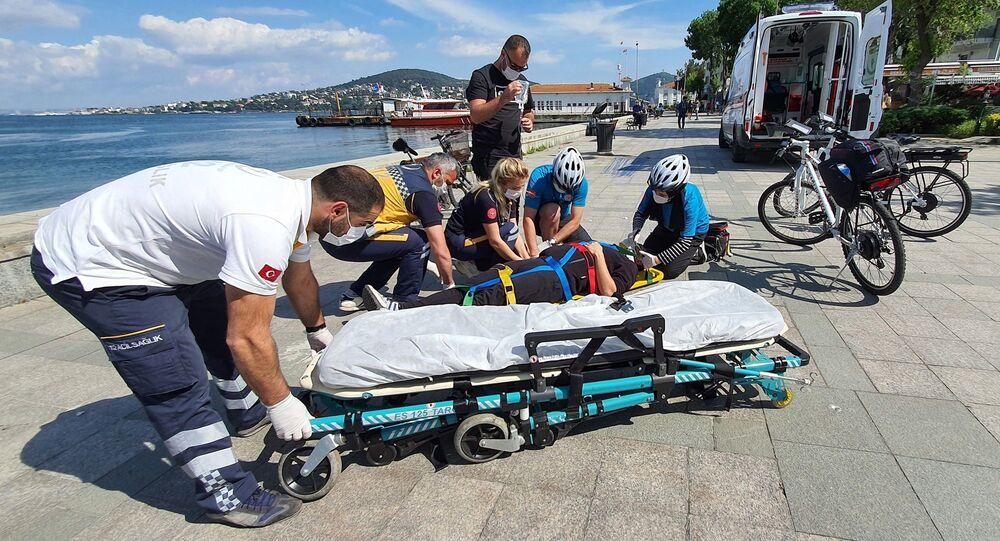bisiklet ambulansları