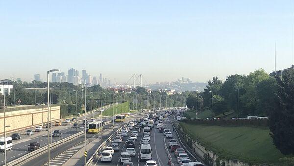 İstanbul - trafik - araba - Sputnik Türkiye