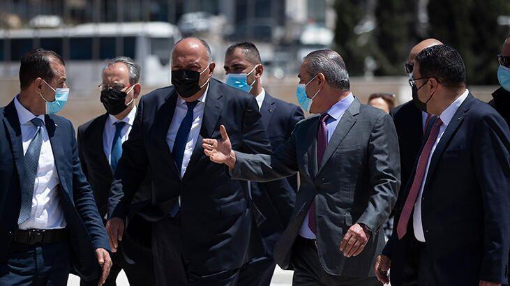 Mısır Dışişleri Bakanı Şukri'den Ramallah'a resmi ziyaret