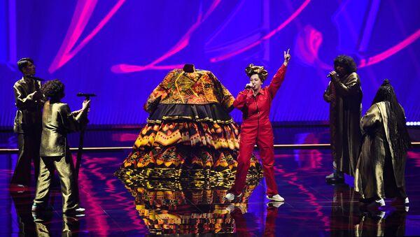 Rusya Eurovision performansı- Manija - Sputnik Türkiye