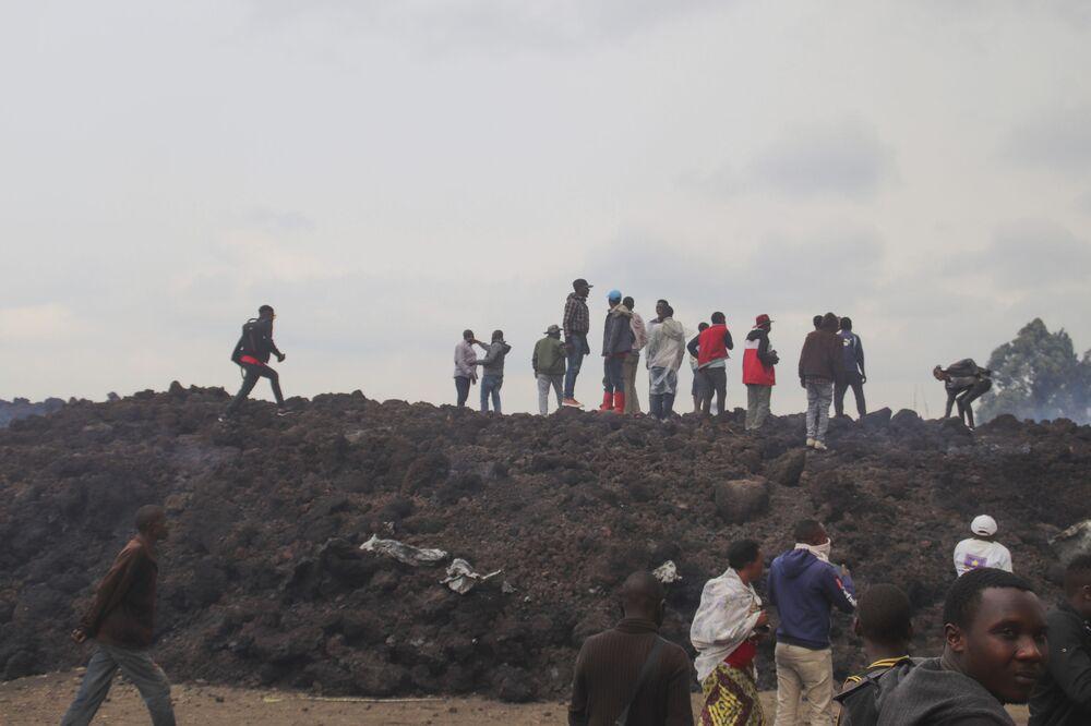 Patlama nedeniyle 25 bin kişi evini terk etmek zorunda kalırken 5 bin kişi de komşu ülke Ruanda'ya sığındı. 170'ten fazla çocuğun kayıp olduğu bildirildi.