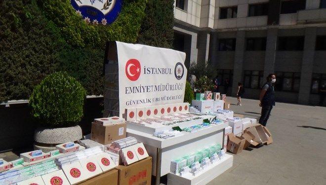 Bağcılar'da Interpol operasyonu: 260 bin sahte hap ele geçirildi