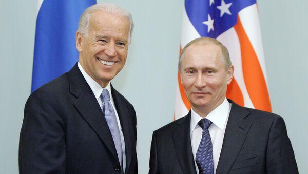 Vladimir Putin - Joe Biden - Sputnik Türkiye
