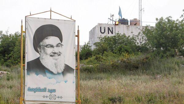 Hizbullah - Hasan Nasrallah - Sputnik Türkiye