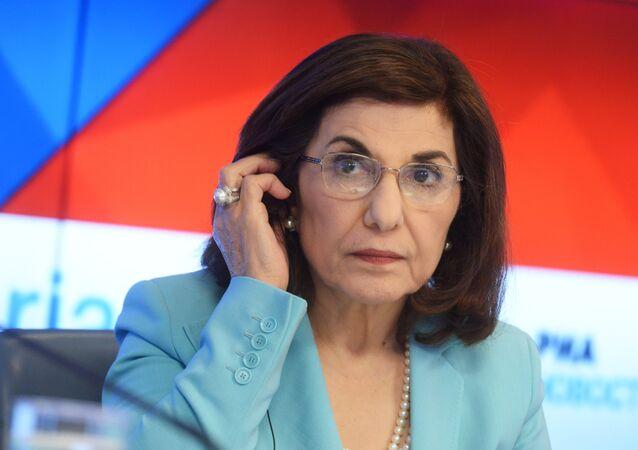 Suriye Devlet Başkanı Esad'ın danışmanı Buseyna Şaban